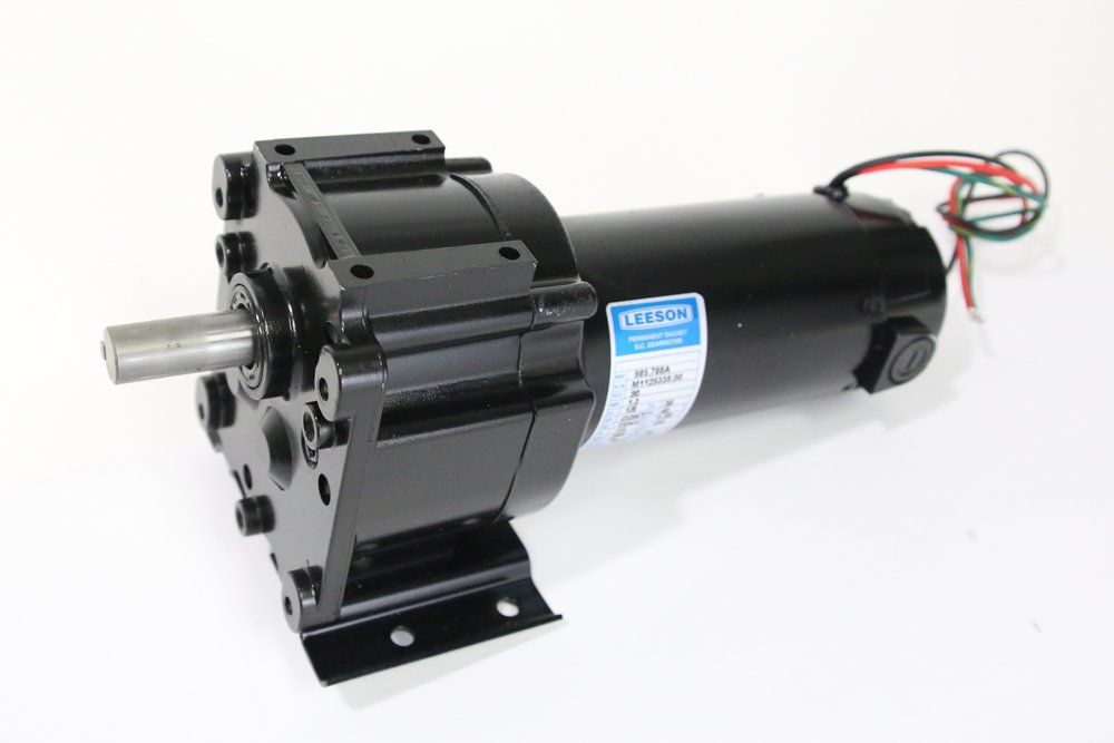 Leeson Umbrella Shuttle Motor 24 RPM. Replaces Haas # 32-1875 Tool Changer Motor