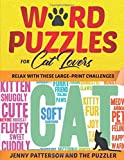 WORD PUZZLES FOR CAT LOVERS: RELAX WITH THESE