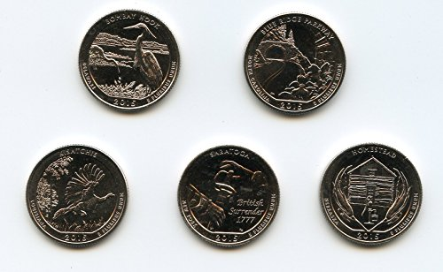 2015 S America The Beautiful National Park Quarters Nearly Choice Brilliant - List Americas Store Las