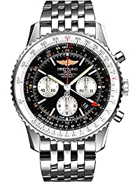 Navitimer GMT Mens Watch AB044121/BD24-453A. Breitling