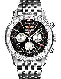 Navitimer GMT Mens Watch AB044121/BD24-453A. Breitling