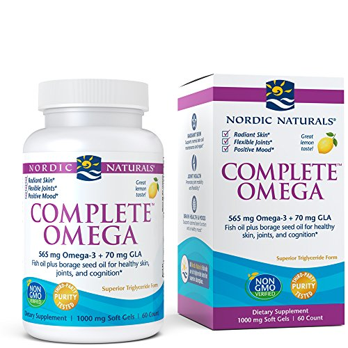 Nordic Naturals - Complete Omega, Supports Healthy Skin, Joints, and Cognition, 60 Soft Gels by Nordic Naturals
