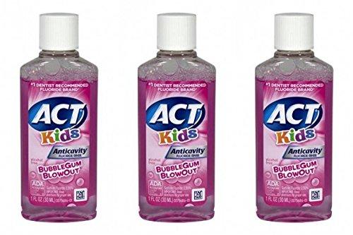 ACT Anti Cavity Fluoride Bubblegum Blowout