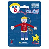: Mr. Bill Bendable Keychain