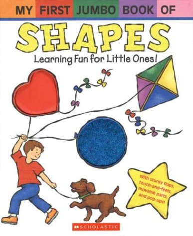 My First Jumbo Book of Shapes (My First Jumbo Book)