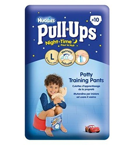 Huggies Pull-Ups Disney-Pixar Cars Night-Time Boys Size 6 Potty Training Pants - 1 x 10 Potty Training Pants by Huggies