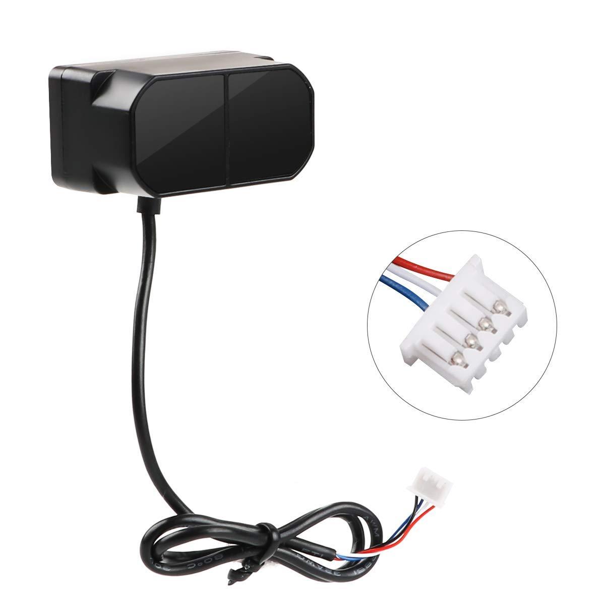 TFmini Plus Lidar Module, 0.1-12m Indoors Measurement Range, Low Cost Waterproof Dustproof Short-Range Distance Sensor, Single-Point Micro UART for Drone Industrial Sensing Robot Smart Home