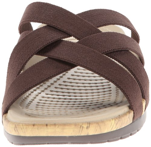 Edie Women's Stretch Espresso Brown Sandals Crocs Espresso wEPBw