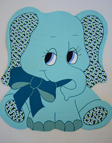 "ELEPHANT - Kiddie Komfies - Sewing Quilt Pattern - 49 1/2"" x 42"""