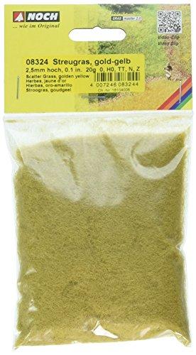 Noch 8324 Scatter Grass gold yellow  G,0,H0,TT,N,Z Scale (Scatter Grass)