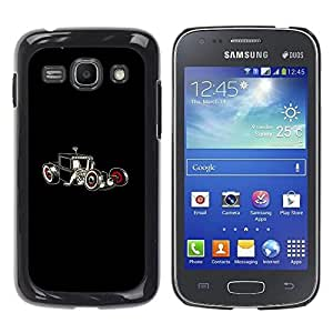 Be Good Phone Accessory // Dura Cáscara cubierta Protectora Caso Carcasa Funda de Protección para Samsung Galaxy Ace 3 GT-S7270 GT-S7275 GT-S7272 // Hot Rod Art