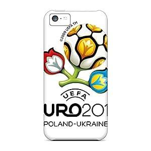 Excellent Design Euro 2012 Case Cover For Iphone 5c