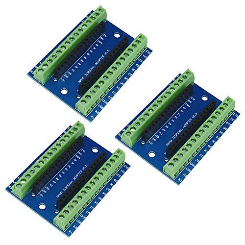 5 Stücke Nano Terminal Adapter Für Arduino Nano V3.0 Avr ATMEGA328P-AU Modul ma