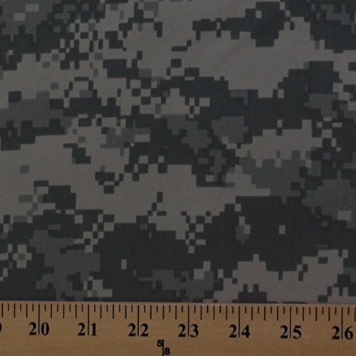 U.S. Army Digital Camouflage Camo Twill Fabric Print By the Yard (5002F-4K)