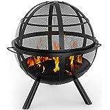 Regal Flame Globe Ball Outdoor Backyard Garden Home Light Fire Pit
