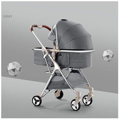 JYY Carro Plegable Antichoque De Alta Visión para Bebés ...
