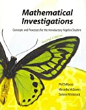 Mathematical Investigations, DeMarois, Phil and McGowan, Mercedes, 075750390X