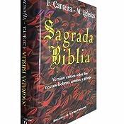Sagrada Biblia Cantera-Iglesias : Versión crítica sobre