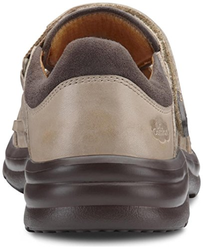 Sandalias Dr. Fisher Mujer's Breeze Light Gold Diabetic Fisherman