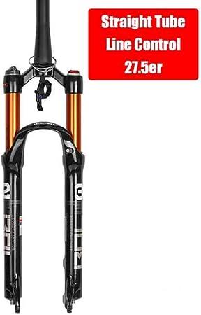 Suspensión De Horquilla De Bicicleta Encendida Para MTB Horquilla De Bicicleta De Montaña Amortiguación De Aire Aleación De Magnesio Horquilla Delantera 26 27.5 29 Er Pulgadas Piezas De Ciclismo,08: Amazon.es: Hogar