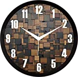 RAG28 11.75 Inches Designer Wall Clock for Home/Living Room/Bedroom/Kitchen (13375)