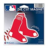 MLB Boston Red Sox 02948115 Die Cut Magnet, Small, Black