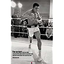 Posters: Muhammad Ali Poster - The Room Was Dark (36 x 24 inches)