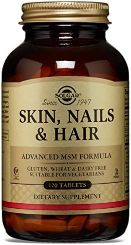 Solgar - Skin, Nails and Hair, Advanced MSM Formula, 120 Tablets