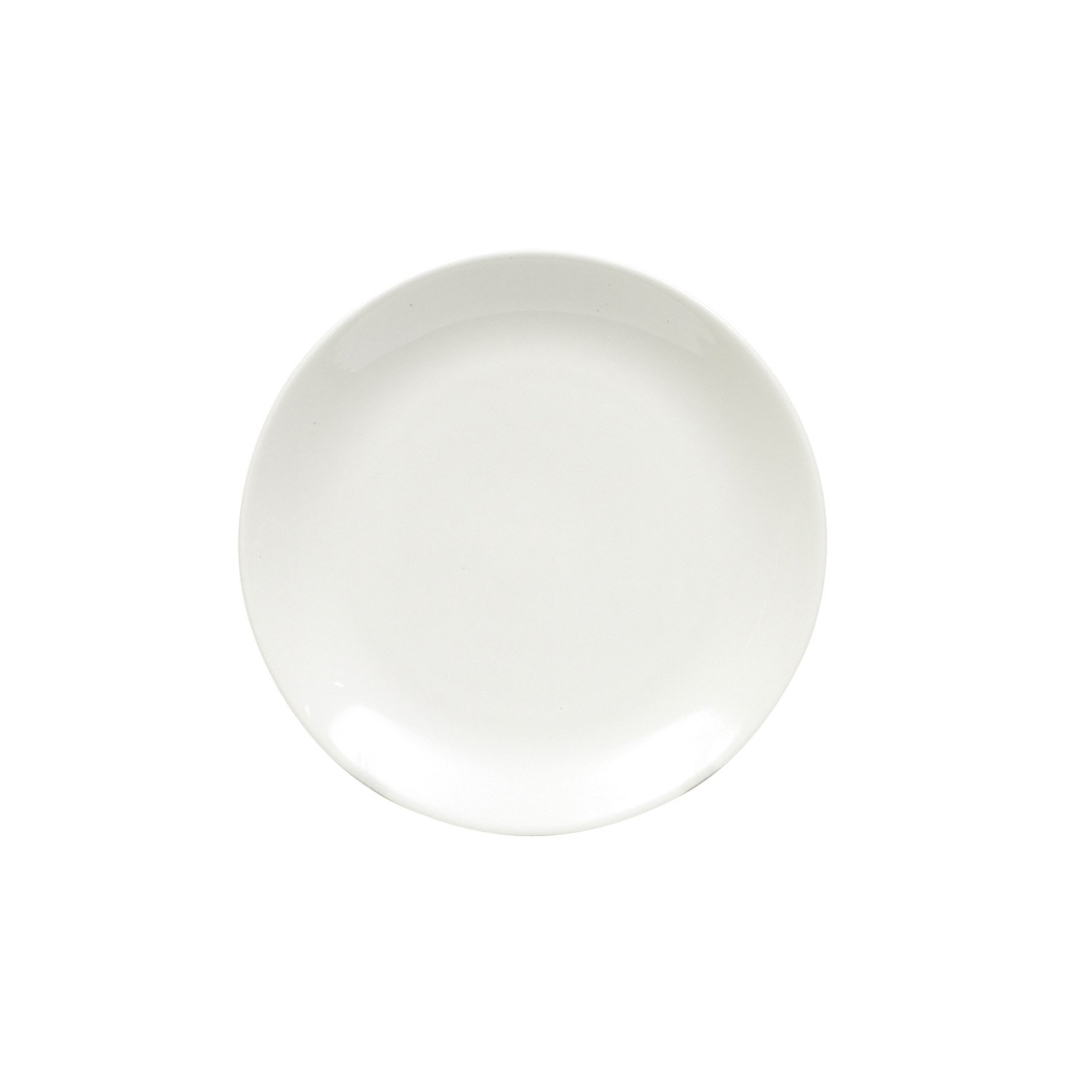 Maxwell and Williams Basics Coupe Side Plate, White Fitz and Floyd P7019