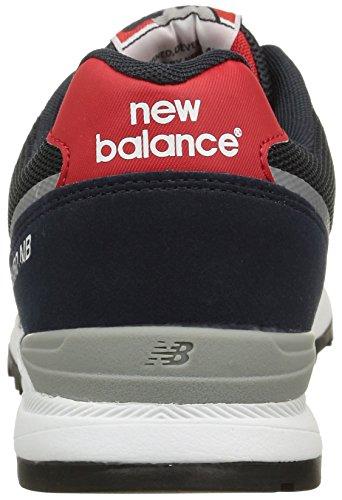 New Balance NBML850MKY Sneaker, Uomo Azul - Blau (Navy/Red)