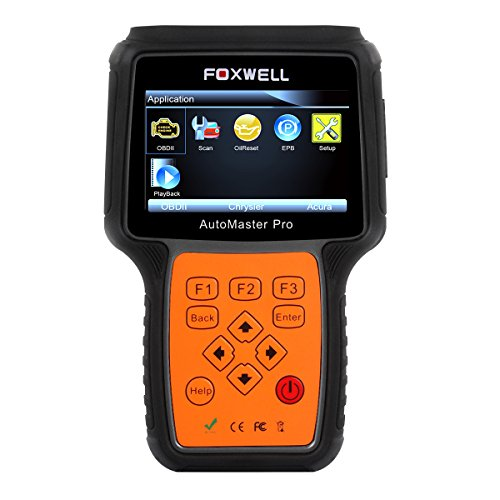 FOXWELL NT624 Pro All-Makes Automotive Obd2 Scanners Car All-Systems Diagnostic Scan Tools with Oil Light Reset and EPB Service Functions CAN OBD II EOBD Code Reader