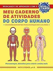 Meu caderno de atividades do corpo humano