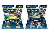 Excalibur Batman & Bionic Steed + Ninjago Zane & NinjaCopter Fun Packs - LEGO Dimensions - Not Machine Specific