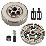 Wellsking Clutch Drum Sprocket + Clutch Fuel Filter Oil Filter for Stihl MS290 MS310 MS390 029 039 Chainsaw Replace 1125 160 2002
