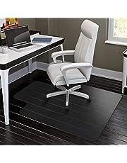 HYNAWIN Office Chair Mat for Hard Floors - 36''×47'',Heavy Duty Clear Wood/Tile Floor Protector PVC Transparent