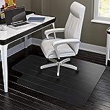 HYNAWIN Office Chair Mat for Hardwood Floors - 36'x47',Heavy Duty Clear Wood Floor Protector PVC Transparent