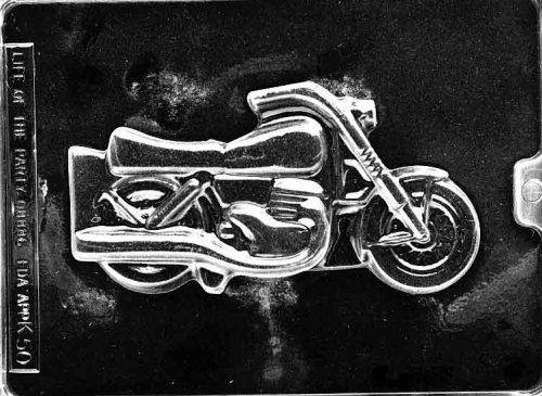 Motorcycle Candy Mold - 5