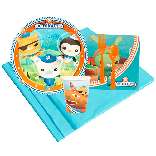 Octonauts Party Supplies - Party Pack for 8 (Tunip Octonauts Costume)