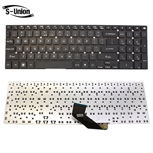 (S-Union New Black US Layout Laptop Replacement Keyboard for Acer ASPIRE VA70 V3-731G V3-7710 V3-7710G V3-772G V3-731 V3-771 V3-771G V3-571 V3-571G V3-551 V3-551G E1-532P E1-570 E1-570G E1-572 E1-572G )
