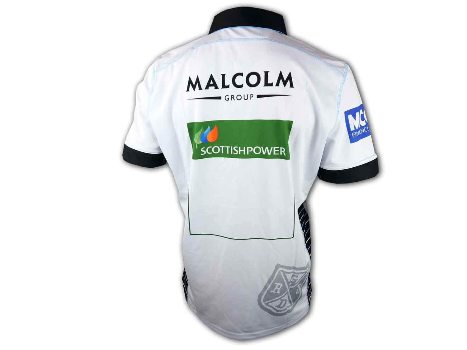 Macron Glasgow Warriors Alternate Rugby Shirt Union League Jersey Sports Outdoors Rugby