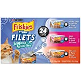 Purina Friskies Prime Filets Seafood Favorites Variety Pack Cat Food - (24) 8.25 lb. Box