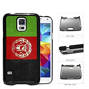 Afghanistan Flag Black Red and Green Hard Snap on Phone Case Cover Samsung Galaxy S5 I9600