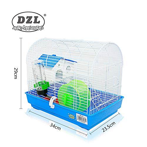 DI ZE LIN PET HOME S.L DZL® Jaula para Hamster 34 * 23.5 * 29cm ...