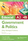 img - for Edexcel A2 Government & Politics Student Unit Guide: Unit 4B Other Ideological Traditions by Barry Pavier (2009-08-28) book / textbook / text book