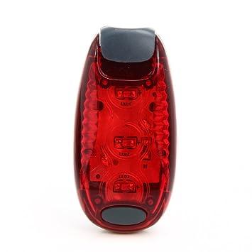domybest Super brillante 3 LED luz piloto trasero de seguridad para ...