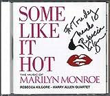 SOME LIKE IT HOT - THE MUSIC OF MARILYN MONROE - REBECCA KILGORE - HARRY ALLEN QUARTET
