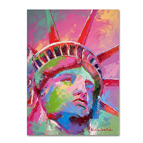 Lady by Richard Wallich, Canvas Wall Art- Americana wall art