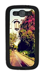 Colorful 4 TPU Case Cover for Samsung Galaxy S3 and Samsung Galaxy I9300 Black
