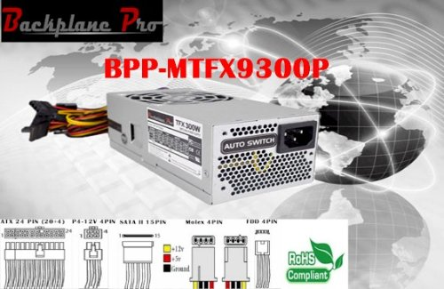 New Slimline Power Supply Upgrade for SFF Desktop Computer - Fits: HP Pavilion S5000, S5100BR, S5100LA, S5100Z CTO, S510
