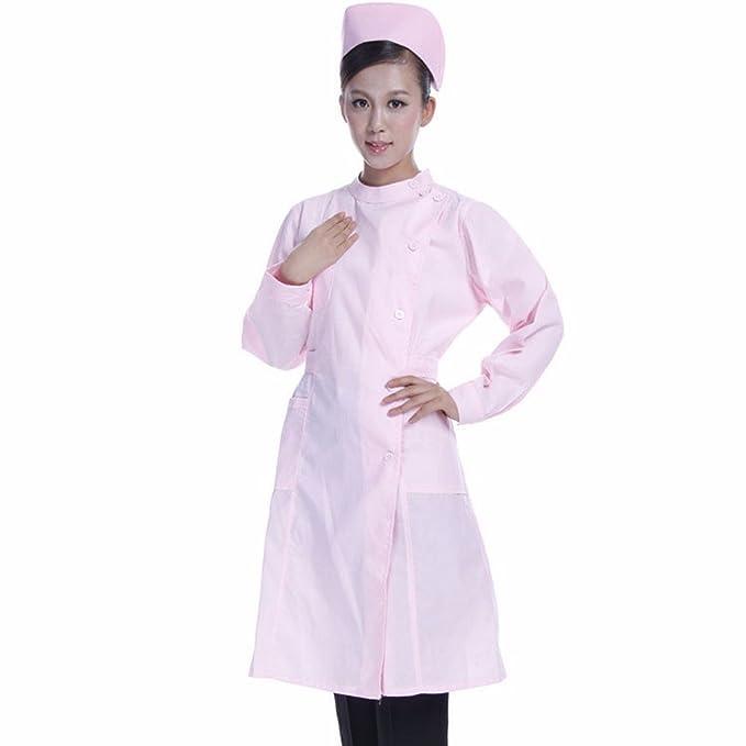 Xuanku De Manga Larga De Enfermeras, Médicos, Enfermeras Y Médicos, Ropa, Farmacia Pasantes, Batas Blancas De Laboratorio, Ropa De Trabajo, ...